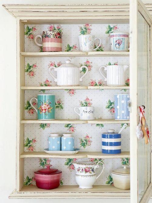 Ideas para decorar con papel pintado vintage decomanitas for Ideas para decorar pared cocina