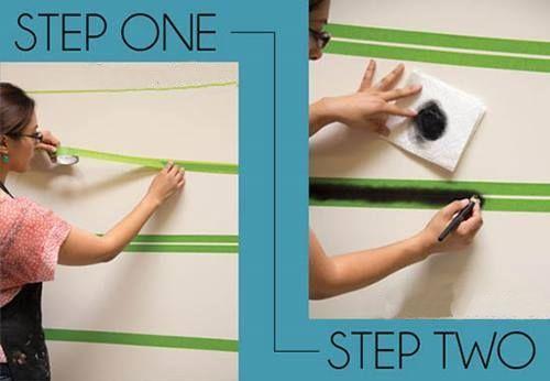 Plantillas para pintar paredes alegres con p jaros 2 - Plantillas para paredes ...