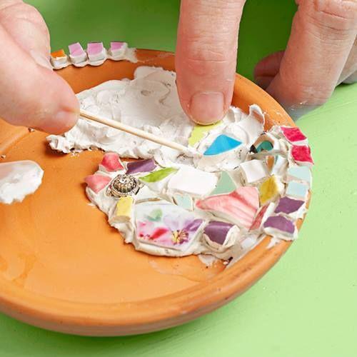 Manualidades para decorar la casa jabonera f cil con - Decorar reciclando facil ...
