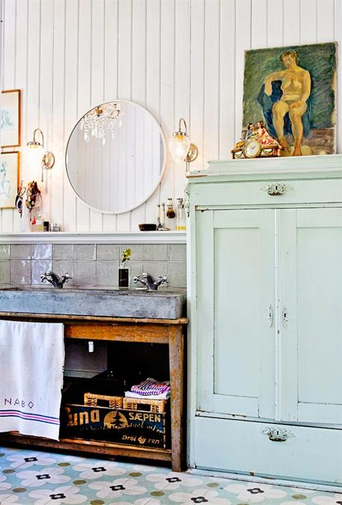 Casas con encanto decoraci n vintage con un punto bohemio for Decoracion bohemia vintage