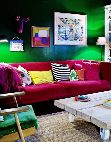 Casas con encanto un hogar donde el color todo lo puede for Todo el diseno del hogar