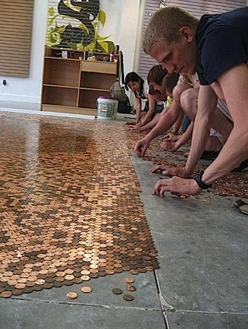 Decoracion De Baño Reciclando:de céntimos, centavos o peniques son realmente una muestra de