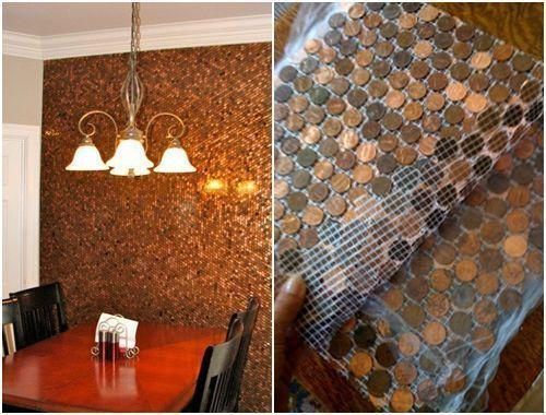 Ideas para decorar reciclando monedas de c ntimo decomanitas for Ideas para decorar la casa reciclando