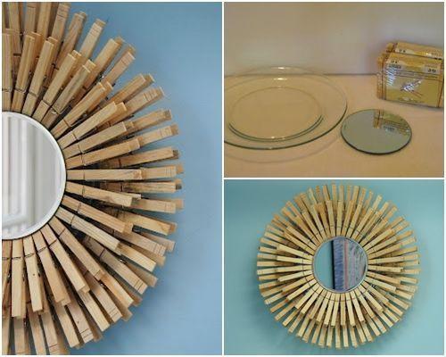 10 manualidades con pinzas de madera para decorar tu casa - Manualidades con maderas ...