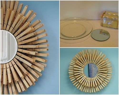 10 manualidades con pinzas de madera para decorar tu casa decomanitas - Productos de madera para manualidades ...