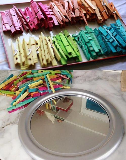 10 manualidades con pinzas de madera para decorar tu casa Manualidades faciles para decorar la casa