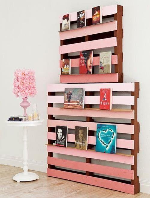 10 muebles con palets para decorar reciclando decomanitas for Muebles para decorar