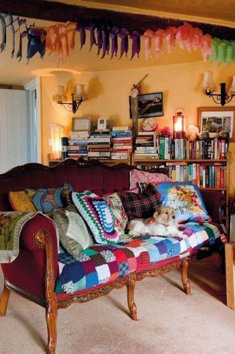 Casas con encanto: decoración boho chic sin limitaciones ...