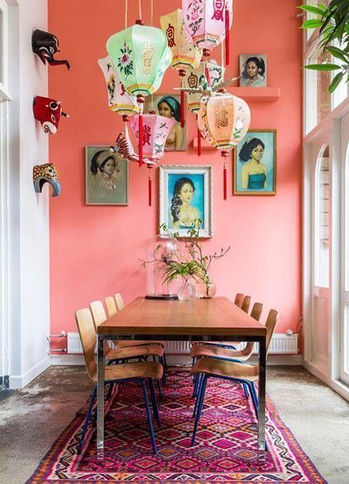 Casas con encanto decoraci n retro con chispa en holanda for Decoracion retro pop