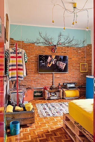 Casas con encanto decoraci n reciclada y optimista en brasil decomanitas - Cosas rusticas para decorar casa ...