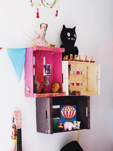 15 ideas para decorar cajas de madera y tunearlas en for Ar 15 decorations