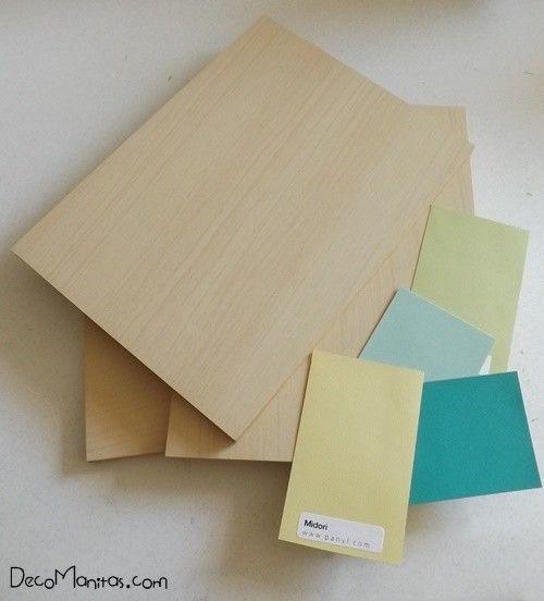 2 manualidades para decorar paredes con tablas de madera - Madera para manualidades ...