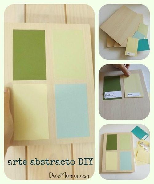 2 manualidades para decorar paredes con tablas de madera 11