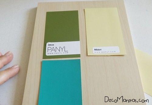 2 manualidades para decorar paredes con tablas de madera 3 - Decorar tabla madera ...