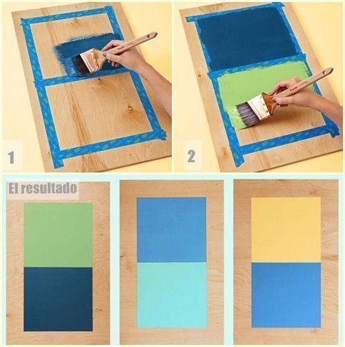 2 manualidades para decorar paredes con tablas de madera - Decorar tabla madera ...