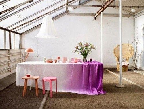 C mo aplicar la t cnica tie dye para decorar tu casa for Aplicacion decorar casa