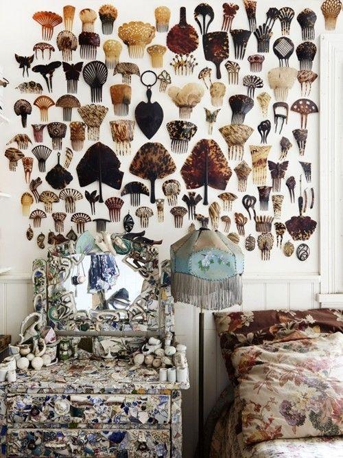 Casas con encanto decoraci n vintage arte y - Arte y decoracion ...