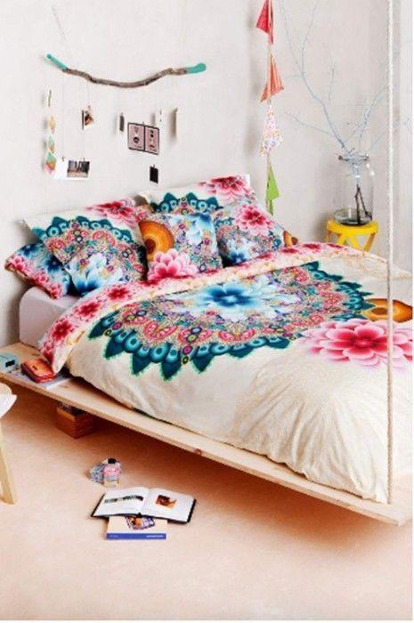 Desigual ropa de cama a todo color de inspiraci n boho - Ropa de cama textura ...