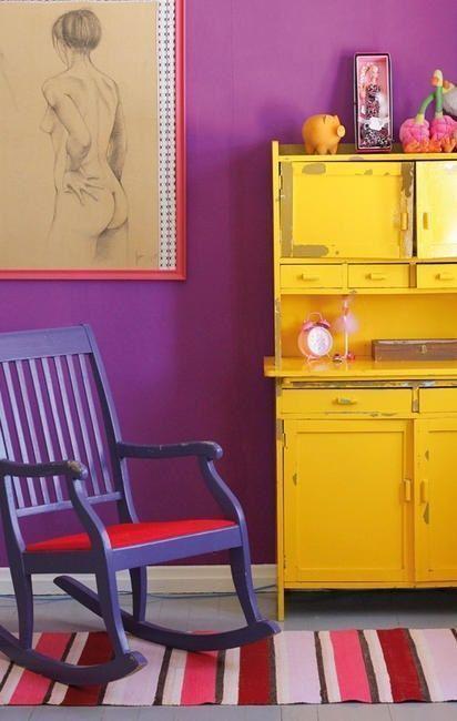 20 ideas para pintar muebles de madera antiguos a todo - Aprender a pintar en madera ...
