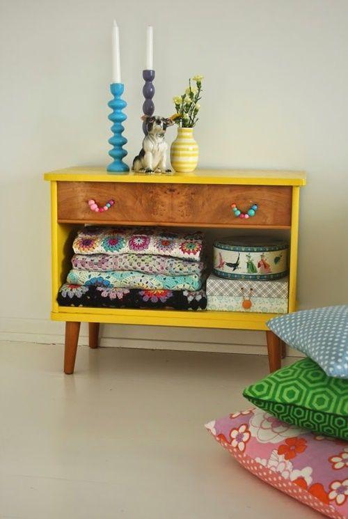 20 ideas para pintar muebles de madera antiguos a todo for Muebles reciclados para un estilo industrial