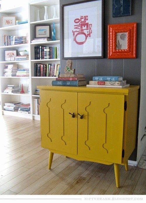 20 ideas para pintar muebles de madera antiguos a todo for Colores maderas para muebles