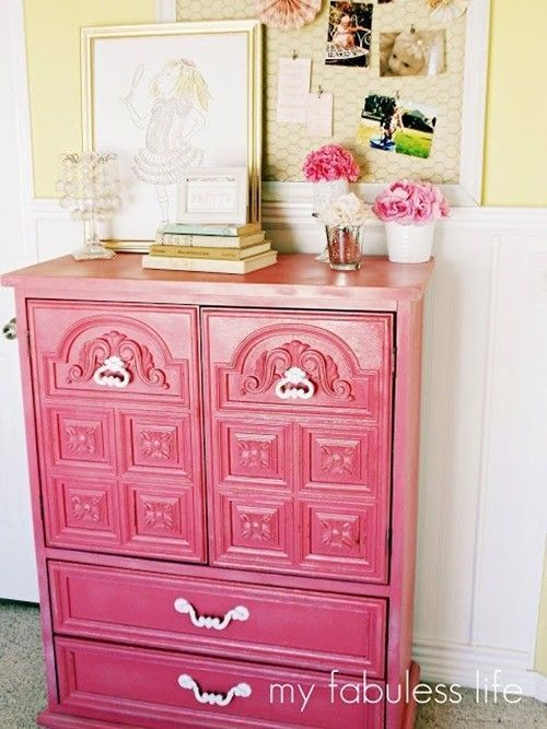 20 ideas para pintar muebles de madera antiguos a todo - Tecnicas de pintar muebles ...
