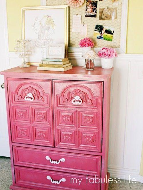 667 en 20 ideas para pintar muebles de madera antiguos a todo color