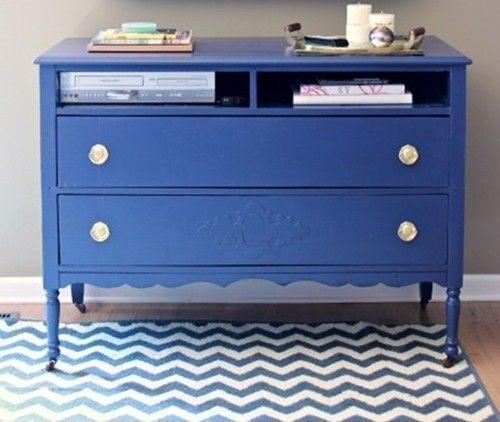 20 ideas para pintar muebles de madera antiguos a todo for Todo para muebles