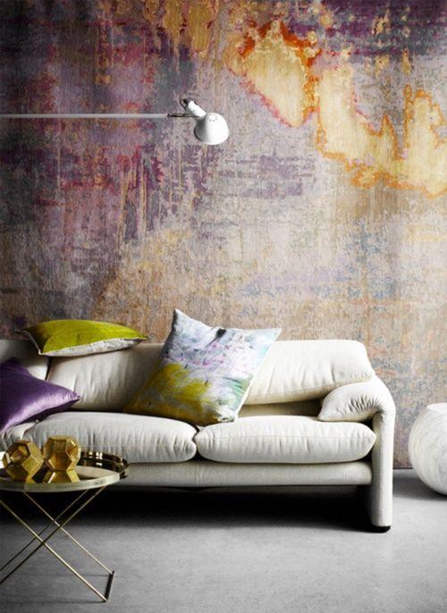 Ideas para pintar una casa paredes vintage con efecto for Pintar mi casa virtualmente