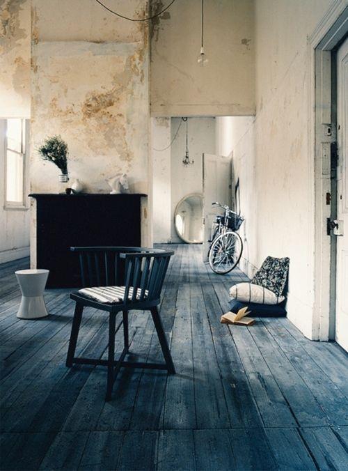 Ideas para pintar una casa paredes con efecto desgastado - Ideas para pintar casa ...