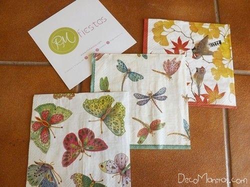 Decoupage con servilletas de papel c mo decorar tazas for Decoupage con servilletas en muebles