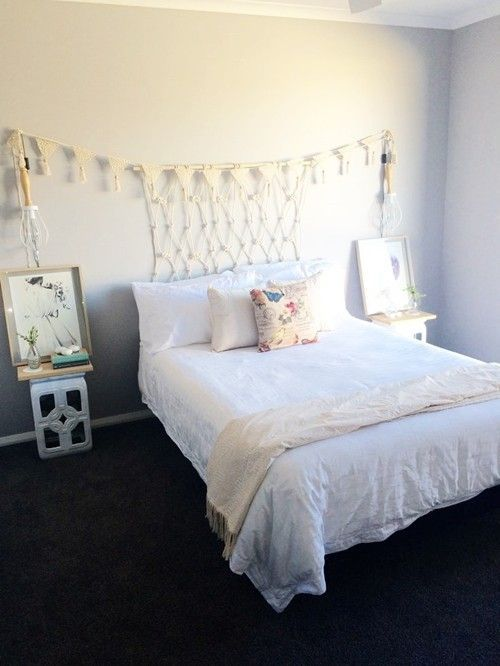 Cabeceros de cama originales estos 10 diy te - Hacer cabecero cama barato ...