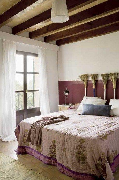 Cabeceros de cama originales estos 10 diy te - Decorar cabeceros de cama ...