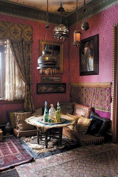 20 ideas para una decoraci n rabe bohemia decomanitas for Decoracion bohemia vintage