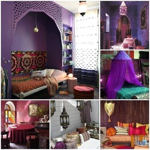 20 ideas para una decoraci n rabe bohemia decomanitas - Decoracion indu ...