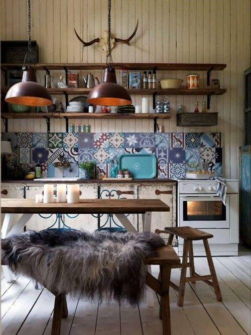 casas con encanto casa boho chic en los bosques suecos decomanitas. Black Bedroom Furniture Sets. Home Design Ideas