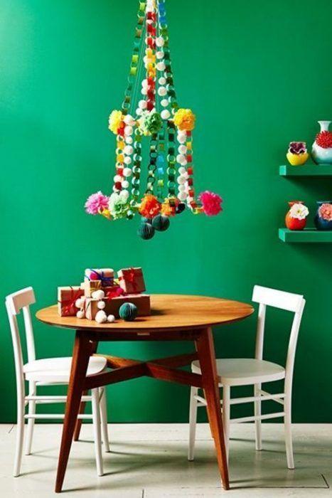 Decoraci n navide a original con algunos objetos - Decoracion navidena ikea ...