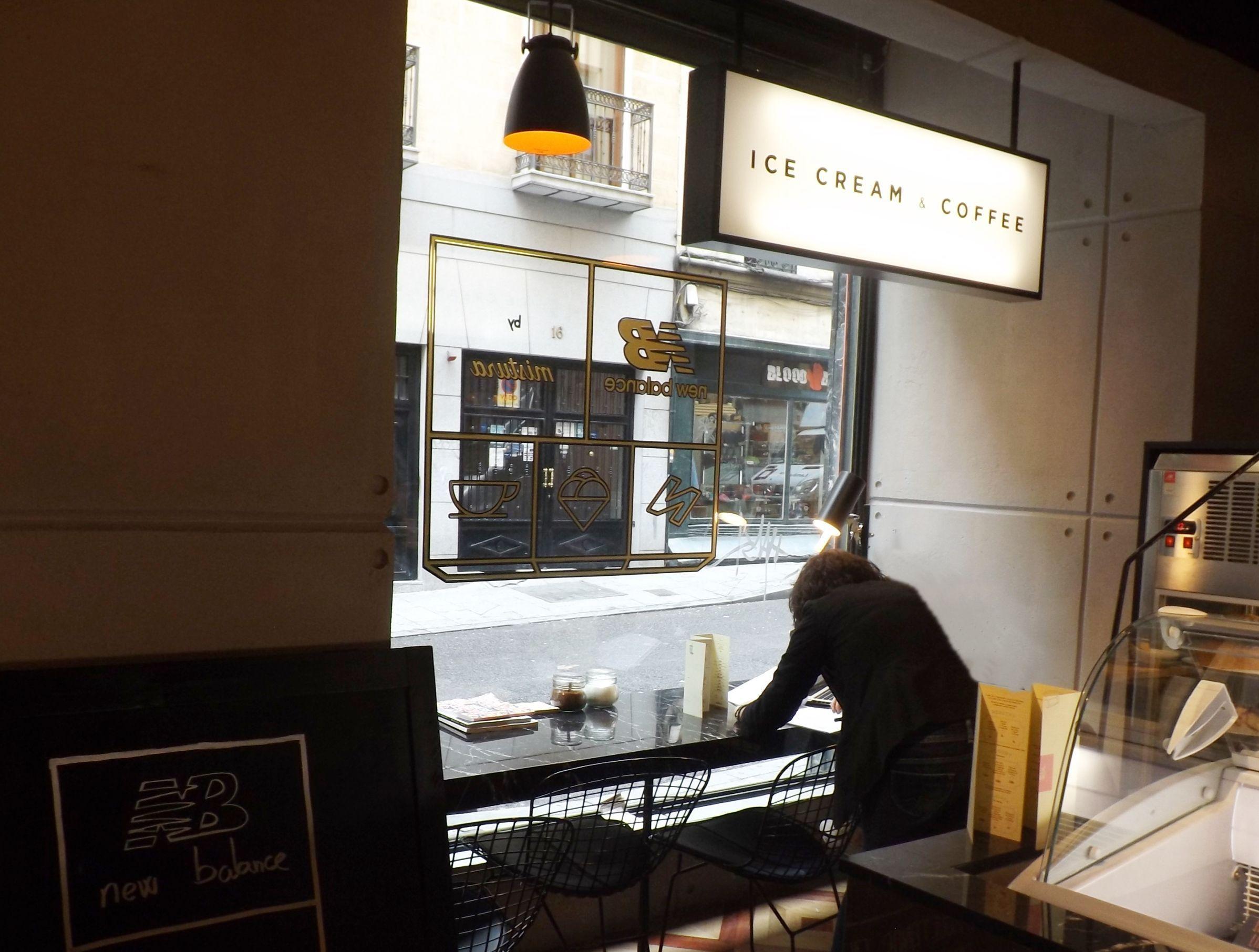 Sitios Con Encanto Caf Y Helader A Artesanal Mistura By New  # Muebles Heladeria