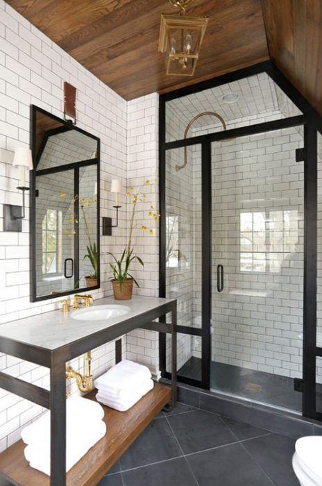 Resultado de imagen de baño estilo metro