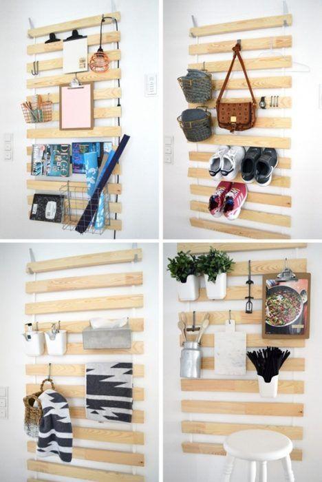 Tunear muebles ikea 5 ideas originales con un somier de - Muebles organizadores ikea ...