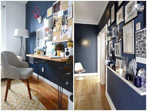 Colores para paredes c mo pintar un apartamento moderno - Ideas para pintar un piso ...