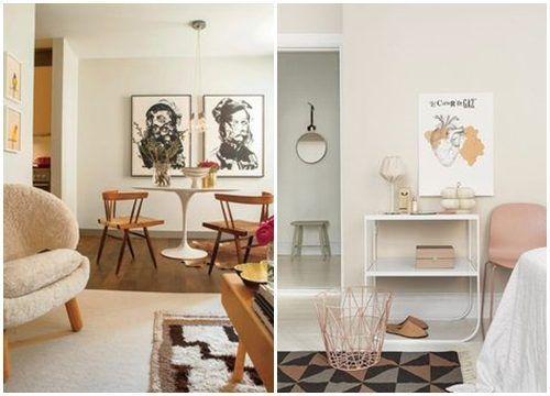 Colores para paredes c mo pintar un apartamento moderno for Como amueblar un loft de 35 metros