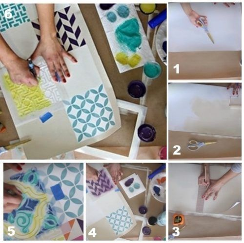 Decora tus muebles antiguos con plantillas para pintar Plantillas decorativas ikea