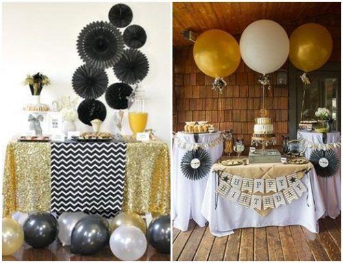 Ideas para decorar con glamour una fiesta en casa for Decoracion 60 30 10