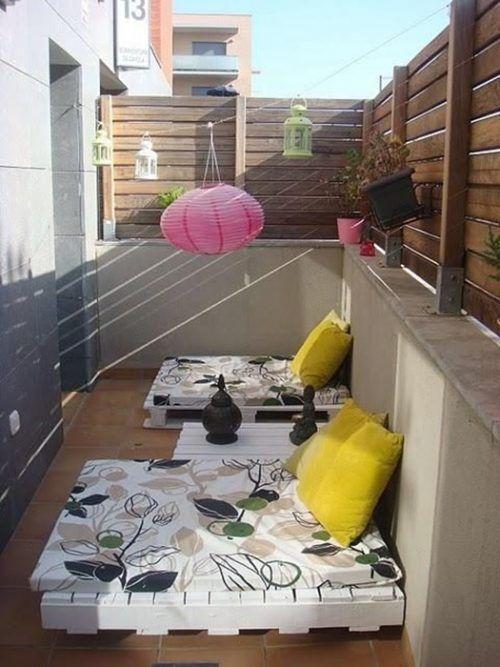 Los 25 muebles con palets m s originales jam s vistos en for Palets decoracion terraza