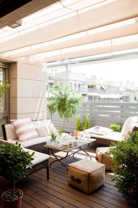 10 ideas para decorar terrazas de ticos como un - Decoracion de terrazas cerradas ...