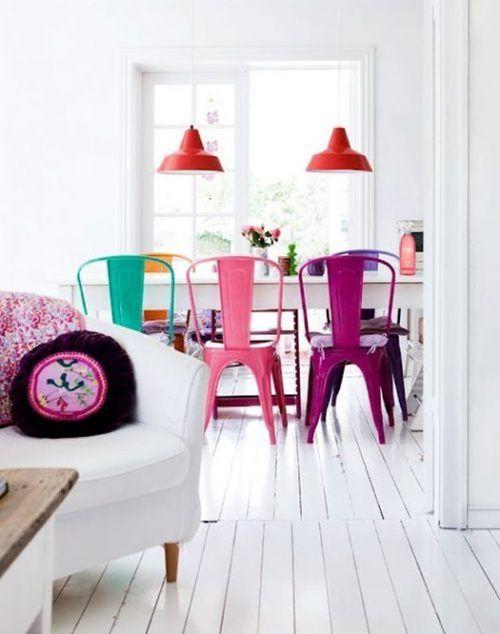 6 sillas de dise o moderno baratas para personalizar la for Sillas naranjas baratas