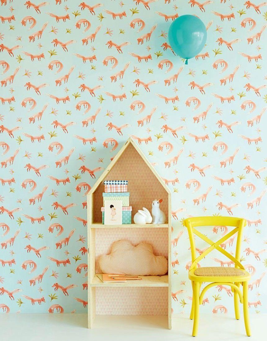 Ideas para decorar habitaciones infantiles originales con papel ...