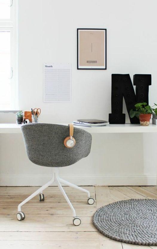 Sillas de oficina con estilo para trabajar y estudiar en casa 6 decomanitas - Sillas para estudiar ...